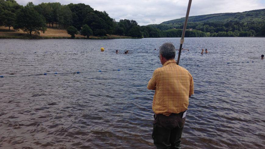 Les prélèvements d'eau sur l'étang de Courtille.