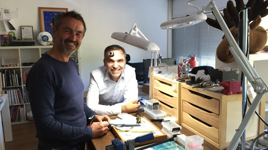 Klokers共同創辦人Nicolas Boutherin及Richard Piras © Radio France - Richard Vivion