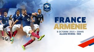 Le match France Arménie à l'Allianz Riviera
