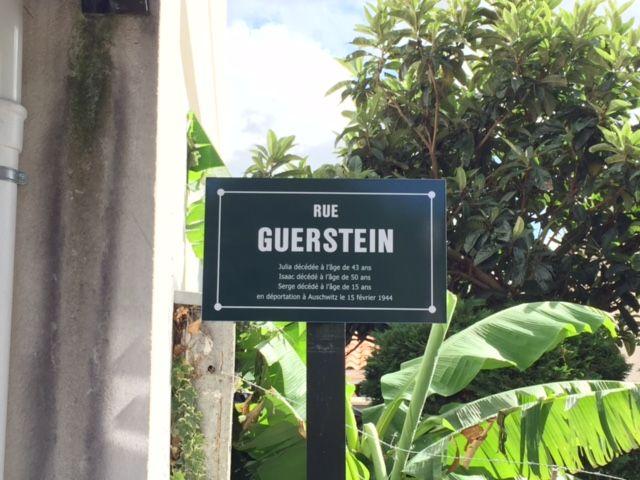 La rue Guerstein à Bègles - Radio France