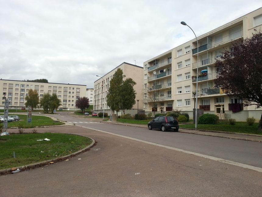 Le quartier de la Trécey compte un millier d'habitants - Radio France