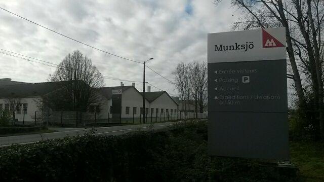 La papeterie Rottersac Munksjö à Lalinde