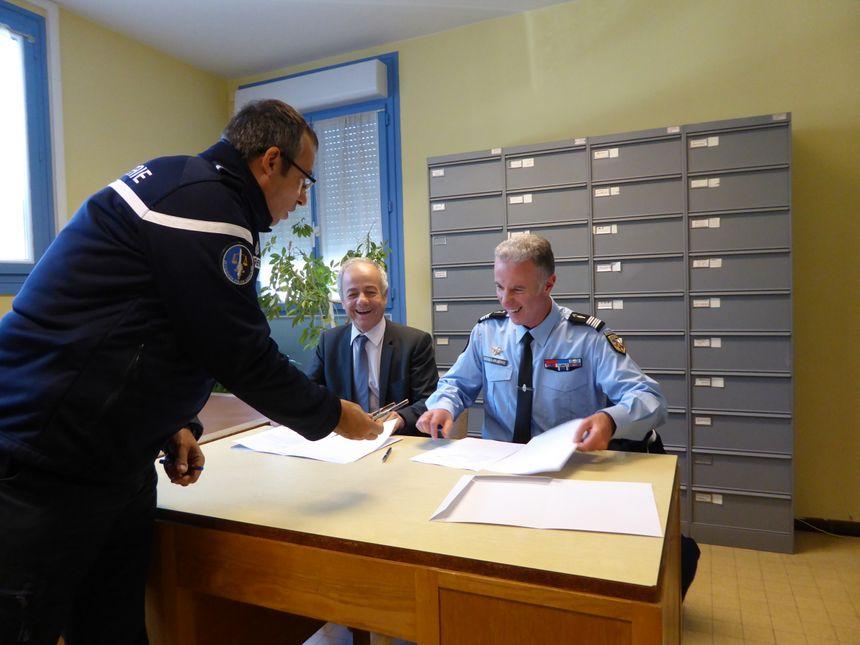 C'est dans ce bureau de poste que le gendarme assurera la permanence - Radio France