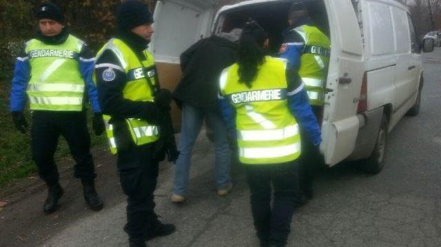 Contrôle sur la RN 21 en Dordogne dans le cadre de l'état d'urgence
