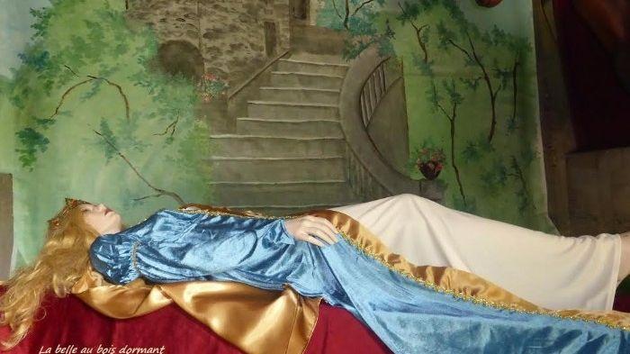 Parmi les contes mis à l'honneur : la Belle au bois dormant.