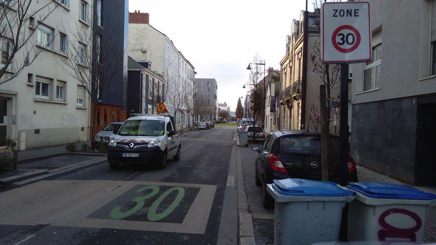 Une zone 30 sur l'île de Nantes