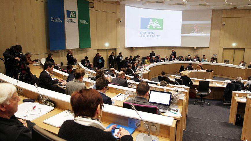 L'hémicycle (ici en janvier 2015) accueillera sans problème tous les conseillers