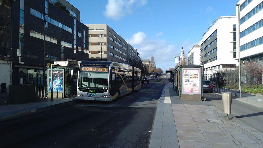 Le Busway de Nantes.