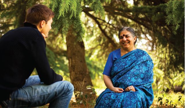 Vandana Shiva, dans En quête de Sens