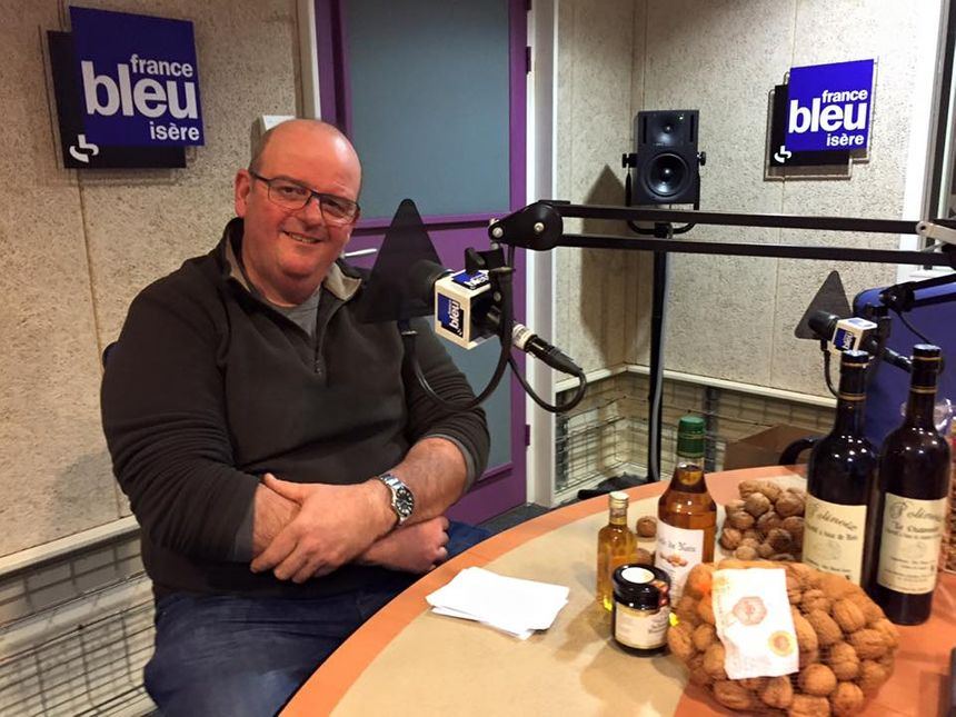 Stéphane Ferlin de Polinoix à Polienas - Radio France