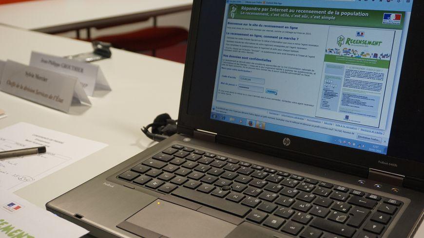 La procédure de recensement se passe aussi sur internet