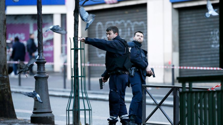 Le quartier de Barbès a été bouclé, jeudi, après l'attaque