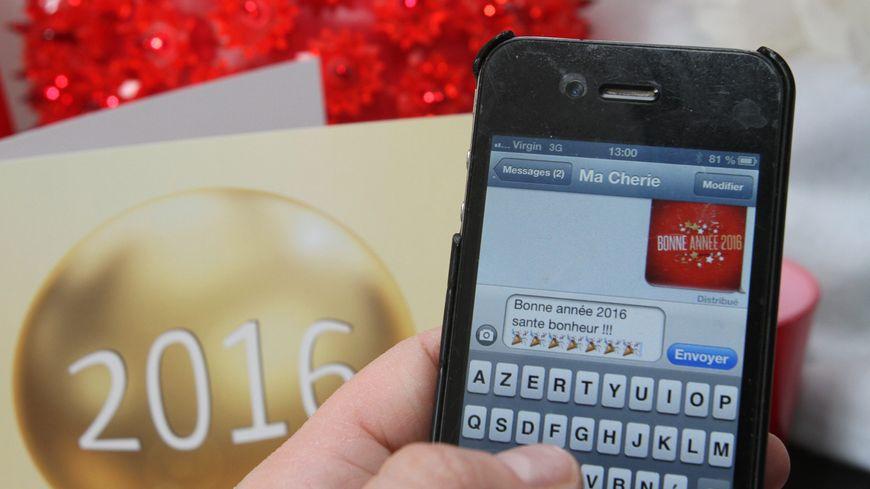 Seul Free voit le nombre de SMS envoyés pour le nouvel an augmenter