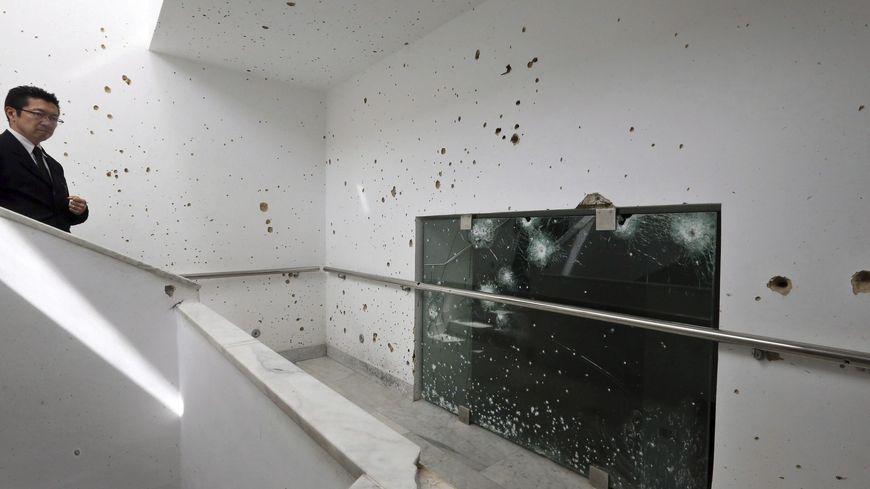 Musée du Bardo après l'attentat