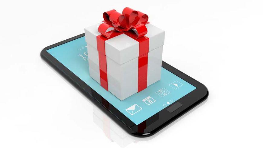 Cadeau pour un smartphone