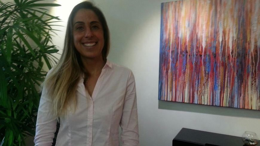 Anne-Cécile Lacoste reçue à la mairie d'Arcachon ce mardi