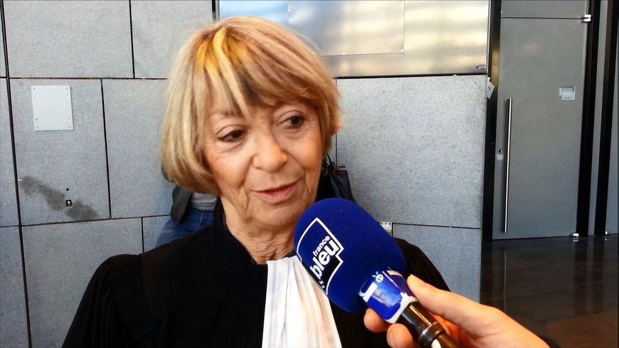 Maitre Joelle Vernay lors du procès d'Echirolles en décembre dernier