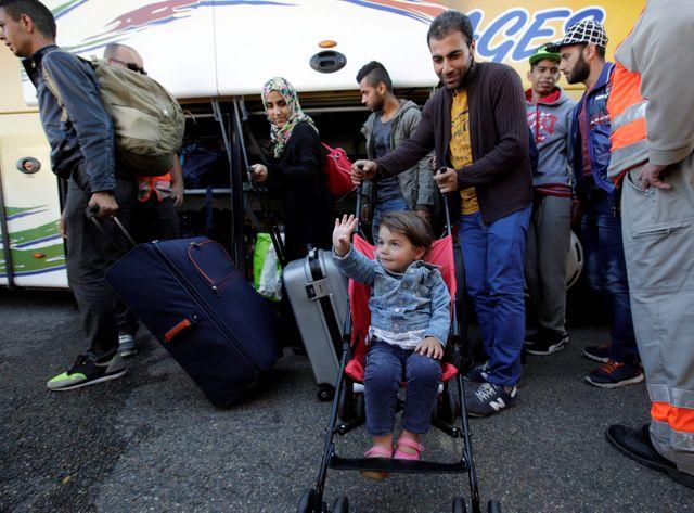 Que deviennent aujourd'hui, ces familles arrivées il y a 3 mois ?