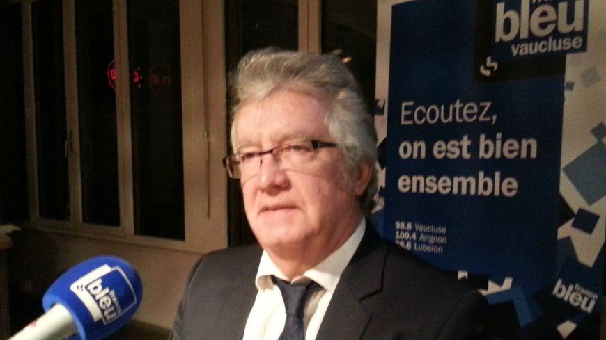 Bernard Reynès, député maire de Châteaurenard