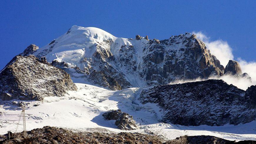 Le glacier des Grands Montets