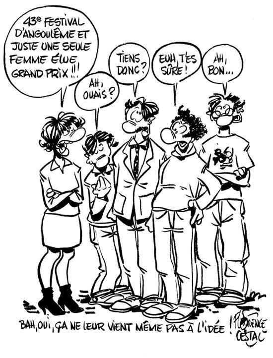 Reaction Grand Prix Angoulême 2016