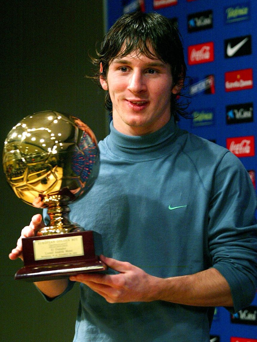 "Lionel Messi ""Golden Boy"" 2005 - Maxppp"