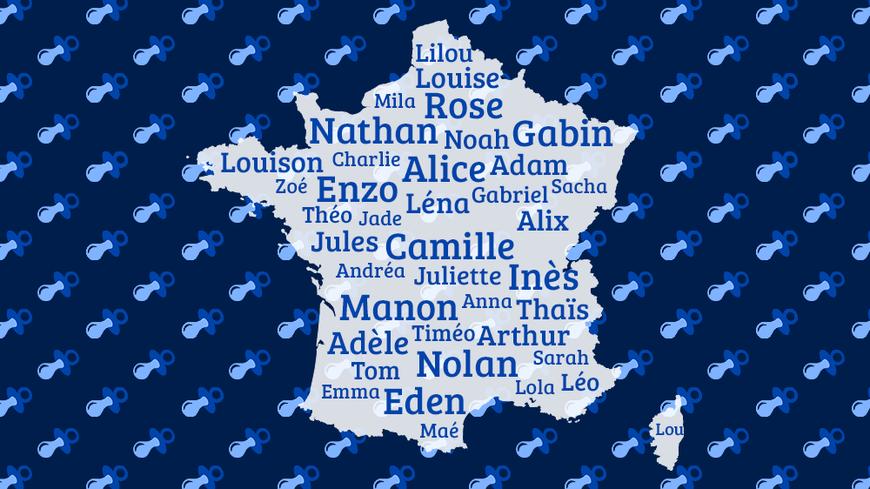 Découvrez les prénoms les plus donnés dans votre ville en 2015