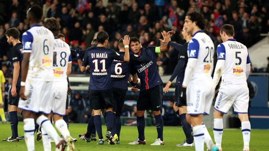 Victoire du PSG face à Bastia 2-0, 080115