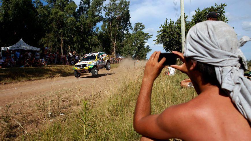 Beaucoup de spectateurs pour le prologue du Dakar 2016