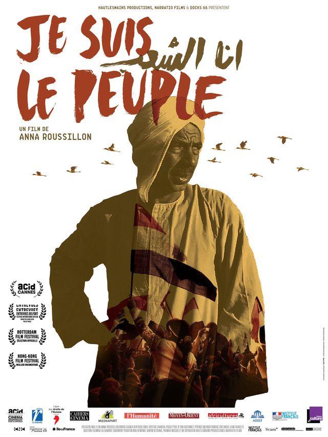 """Affiche """"Je suis le peuple"""""""