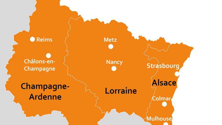 Les 5,5 millions d'habitants pourront choisir le nom de la grande région