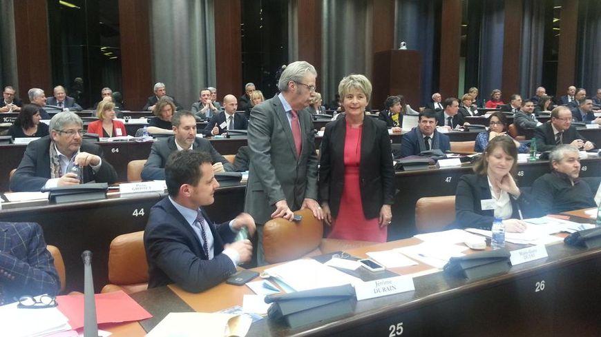 Marie-Guite Dufay (PS) élue présidente de Bourgogne-Franche-Comté