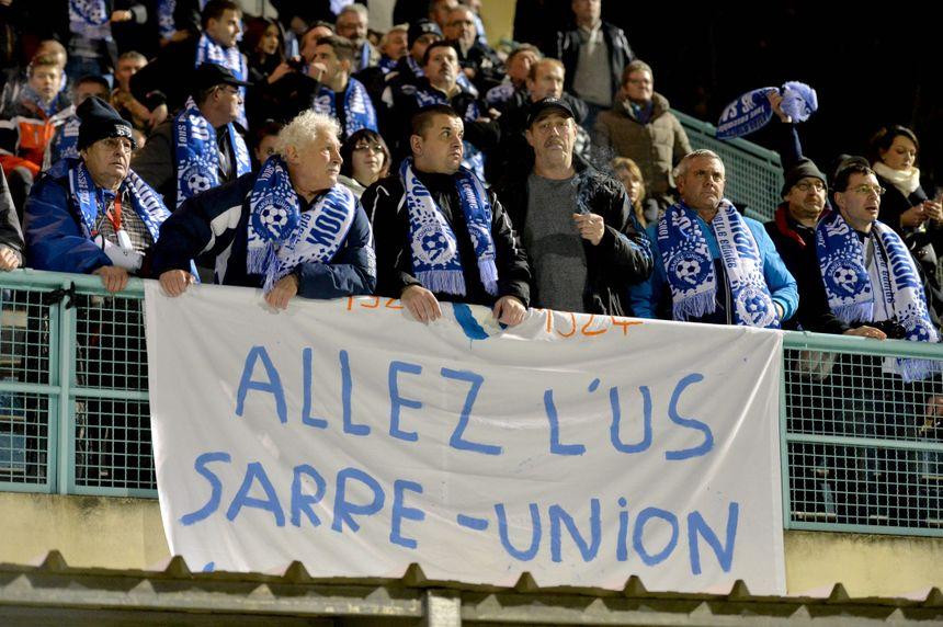 Entre 150 et 200 supporters avaient fait le déplacement à Villefranche (32e) - Maxppp