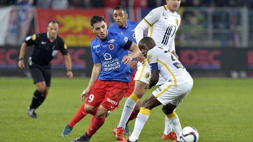 Les Caennais (ici face à Lille) auront fort à faire face à Marseille