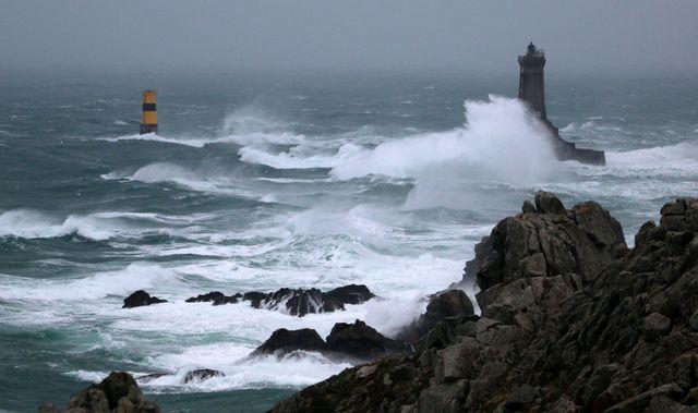 Coup de vent en Bretagne