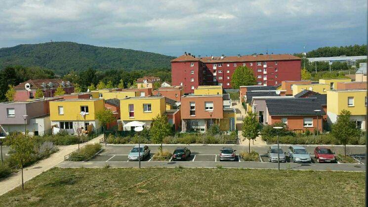 Le quartier de l'Arsot à Offemont