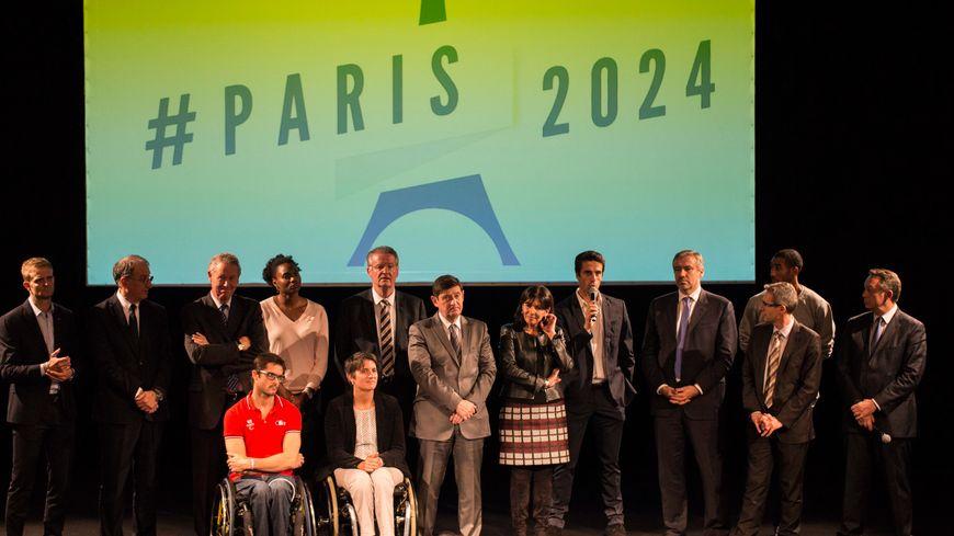 L'annonce du site du futur village olympique, le 5 novembre 2015