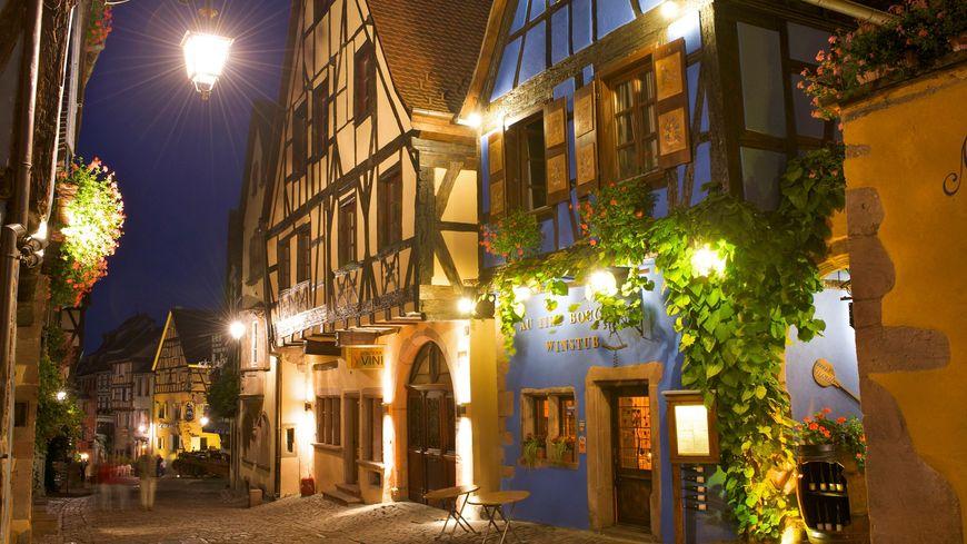 Centre-ville de Riquewihr