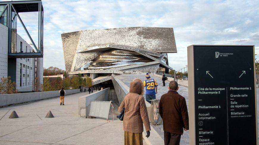 Vue du bâtiment de la Philharmonie