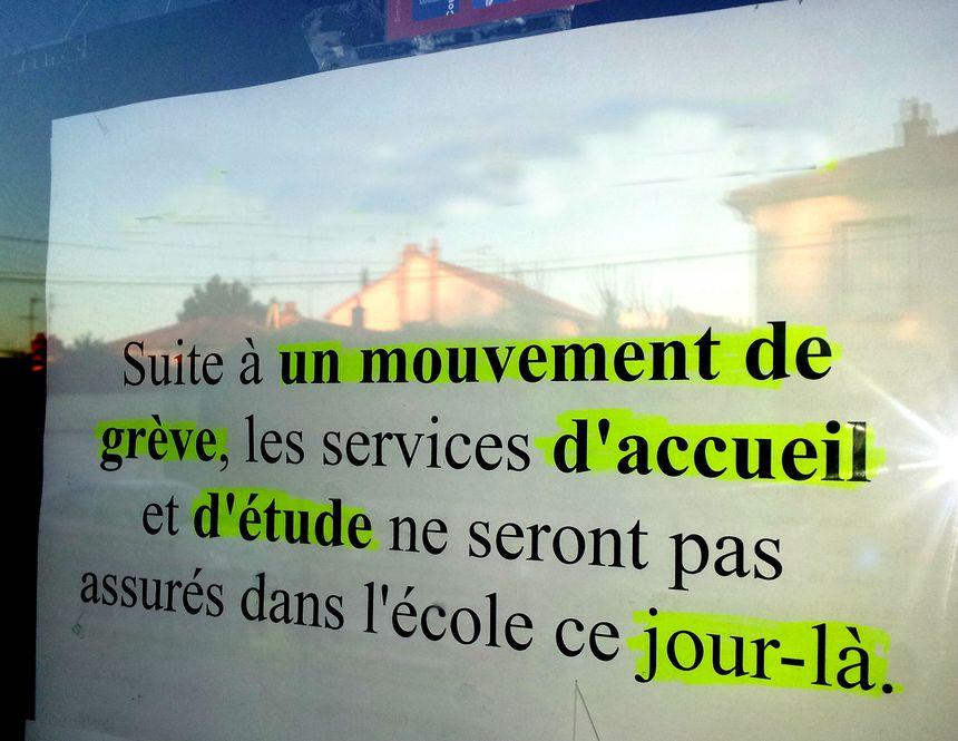 Grève à l'école - Radio France