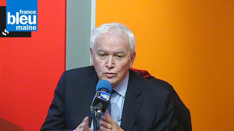 Le sénateur maire du Mans, Jean Claude Boulard