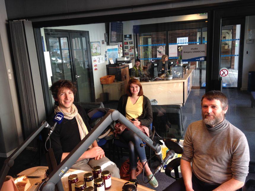 Gilles Cicero boulanger paysan et Etienne Manzoni Arboriculteur - Radio France
