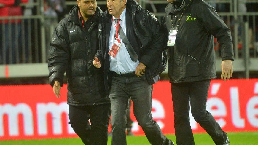 Yvon Kermarec après-match