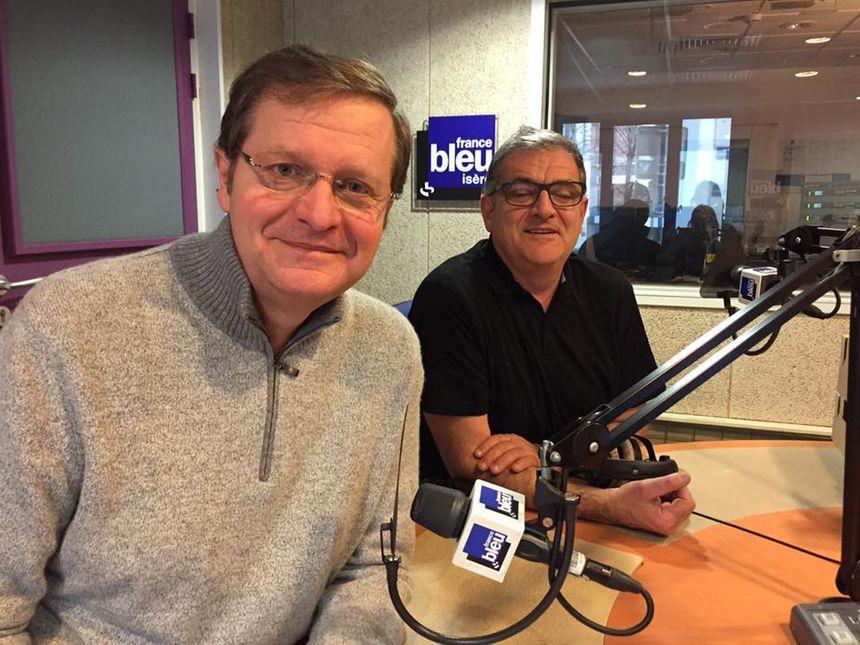Jean Luc et Gilles Bourbon - Radio France