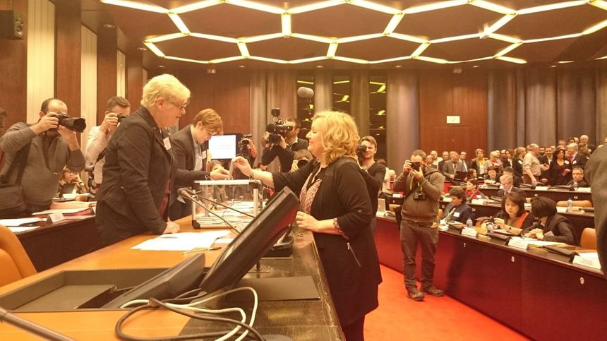Le vote de Sophie Montel (FN) au premier tour - Aucun(e)