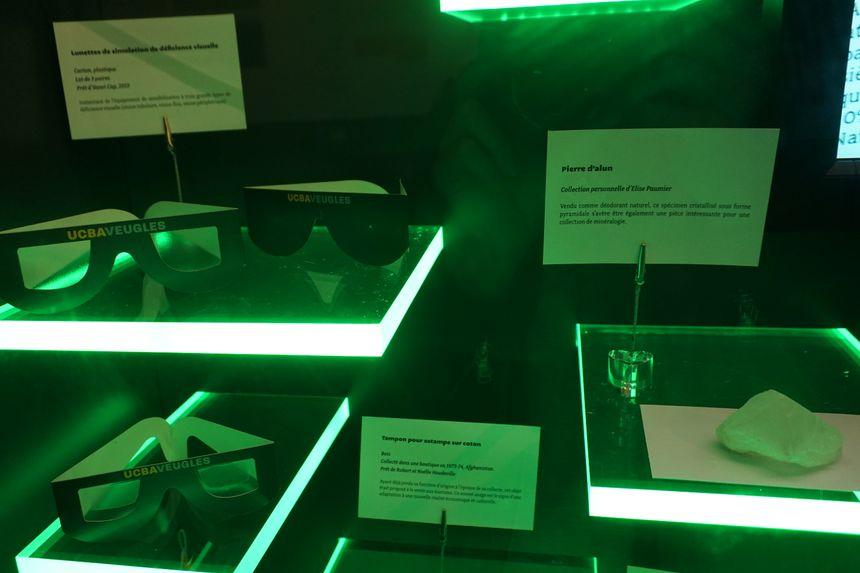 Objets déposés pour le Muséum de demain - Radio France