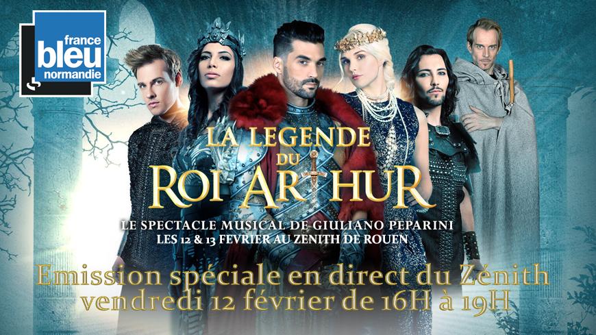 La Légende du Roi Arthur à Rouen