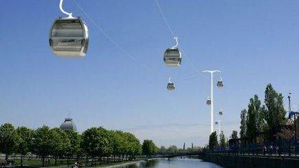Le futur Téléval au-dessus de la Marne