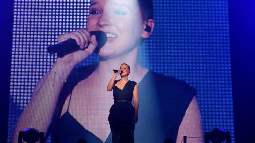Anne Sila, finaliste de The Voice et originaire de la Drôme.