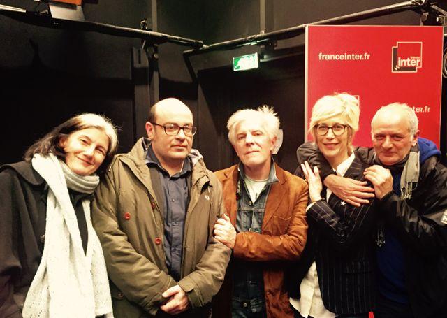 Sophie Fontanel, Christophe Conte, Jérôme Soligny, Valli et Alain Lahana